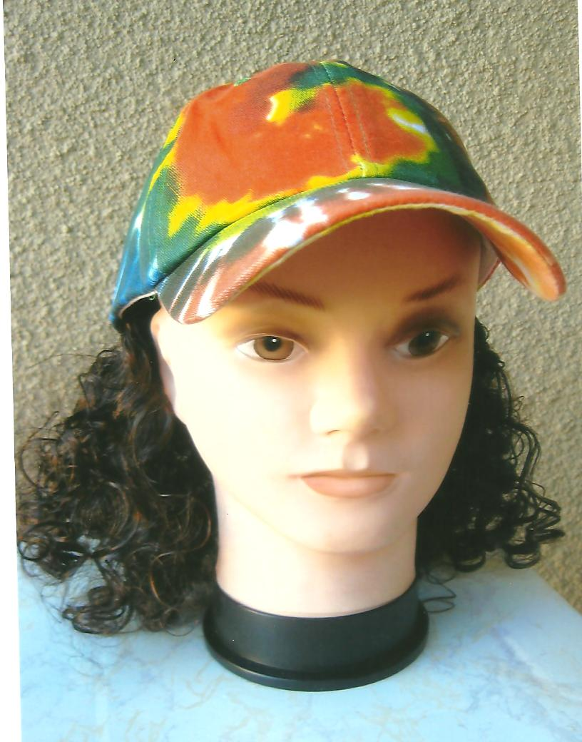 Magic Cap With Hair Attached To The